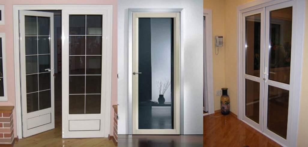 Виды материалов для межкомнатных дверей